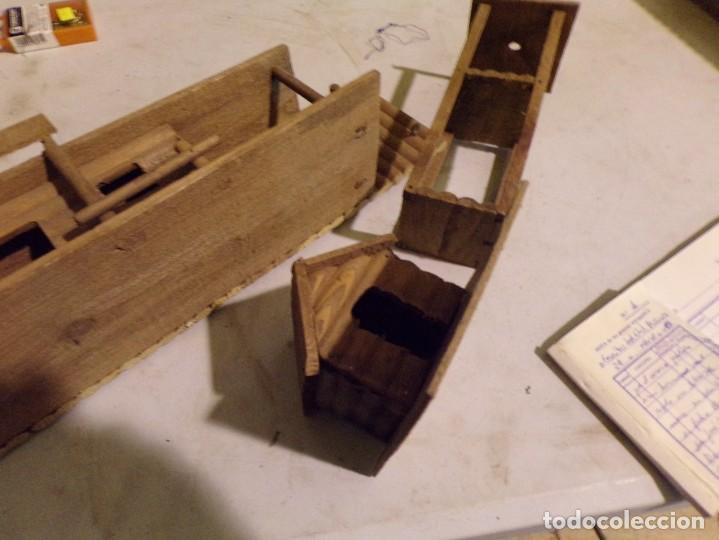 Figuras de Goma y PVC: raro fuerte fort comanche basado en la pelicula de 1961 madera casa pech tipo jecsan - Foto 14 - 217528795