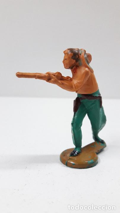 Figuras de Goma y PVC: VAQUERO . REALIZADO POR GAMA . ORIGINAL AÑOS 50 EN GOMA - Foto 2 - 217599596