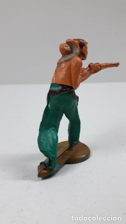 Figuras de Goma y PVC: VAQUERO . REALIZADO POR GAMA . ORIGINAL AÑOS 50 EN GOMA - Foto 3 - 217599596