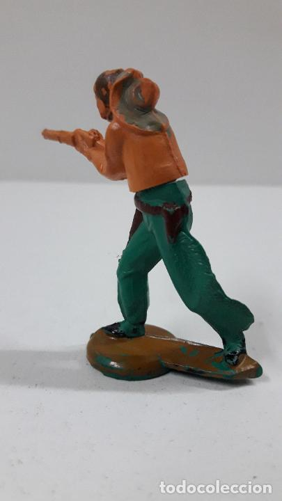 Figuras de Goma y PVC: VAQUERO . REALIZADO POR GAMA . ORIGINAL AÑOS 50 EN GOMA - Foto 4 - 217599596