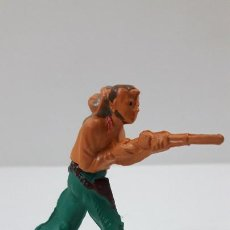 Figuras de Goma y PVC: VAQUERO . REALIZADO POR GAMA . ORIGINAL AÑOS 50 EN GOMA. Lote 217599596