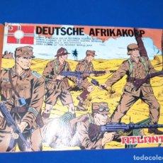 Figuras de Goma y PVC: ATLANTIC AFRIKA KORPS CAJA VACIA. Lote 217638521