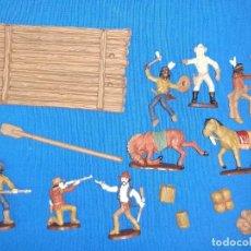 Figuras de Goma y PVC: ATLANTIC LOTE OESTE. Lote 217638871