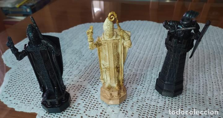 Figuras de Goma y PVC: LOTE 8 FIGURAS DE AJEDREZ DE HARRY POTTER - Foto 2 - 217644641
