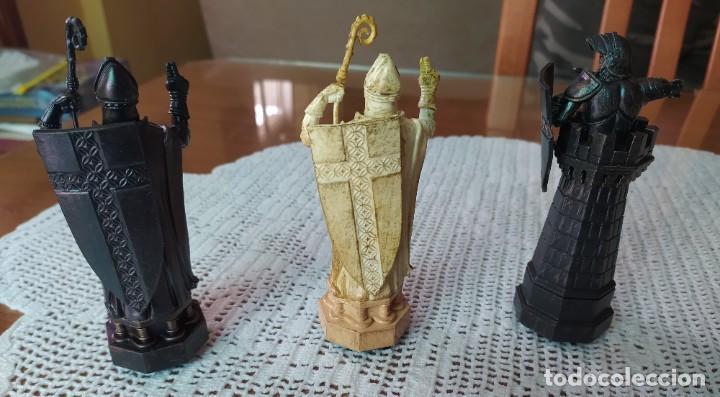 Figuras de Goma y PVC: LOTE 8 FIGURAS DE AJEDREZ DE HARRY POTTER - Foto 3 - 217644641
