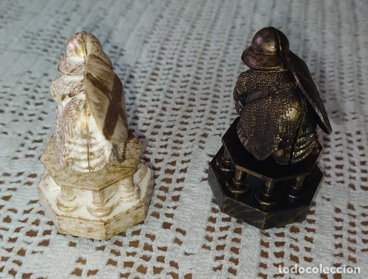Figuras de Goma y PVC: LOTE 8 FIGURAS DE AJEDREZ DE HARRY POTTER - Foto 6 - 217644641