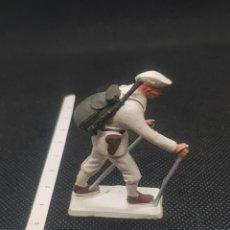 Figuras de Borracha e PVC: TROPAS DE ALTA MONTAÑA STARLUX MUY ANTIGUO TIPO REAMSA JECSAN COMANSI. Lote 217675010