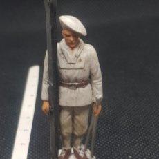 Figuras de Borracha e PVC: ESQUIADORES DE ALTA MONTAÑA STARLUX TIPO REAMSA TIPO JECSAN GAMA SOTORRES. Lote 217675133