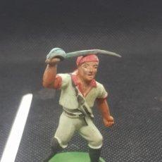 Figuras de Borracha e PVC: ANTIGUA FIGURA DE PIRATA PATA DE PALO STARLUX. Lote 217676086