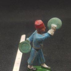 Figuras de Borracha e PVC: FIGURA DE ORQUESTA STARLUX TOCANDO LOS PLATILLOS TIPO REAMSA JECSAN TORRES. Lote 217679171