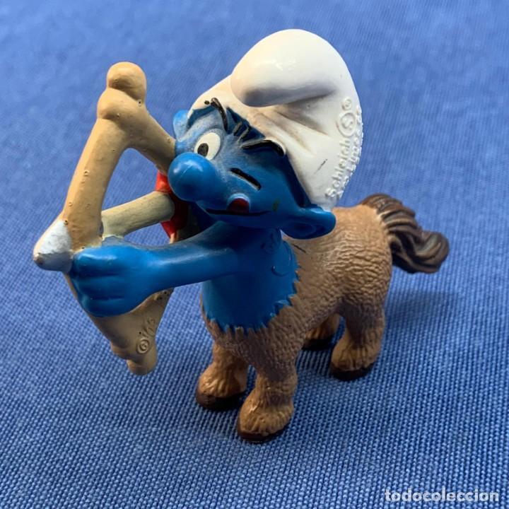 PITUFO - CENTAURO - PEYO - SCHLEICH - AM LIMES 69 - 2009 - MADE IN GERMANY (Juguetes - Figuras de Goma y Pvc - Schleich)