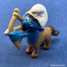 Figuras de Goma y PVC: PITUFO - CENTAURO - PEYO - SCHLEICH - AM LIMES 69 - 2009 - MADE IN GERMANY. Lote 217717696