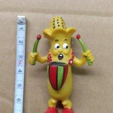Figuras de Goma y PVC: JUGUETE, MUÑECO, FIGURA GOMA O PVC - LA PANDILLA VEGETAL - COMICS SPAIN - PLATANO O MAZORCA MAIZ. Lote 217741947