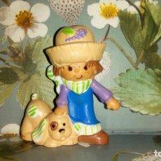 Figuras de Goma y PVC: BONITO MUÑECO PVC HUCKLEBERRY PIE - TARTA DE FRESA-STRAWBERRY SHORTCAKE - 1981. Lote 217755056