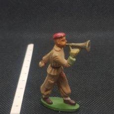 Figuras de Borracha e PVC: FIGURA DE CORNETA EJÉRCITO DE STARLUX. Lote 217806395