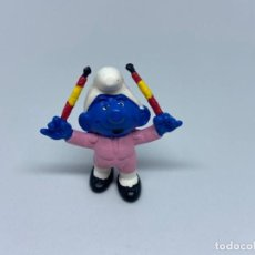 Figuras de Goma y PVC: PITUFO - TORERO BANDERILLAS - SCHLEICH. Lote 217338625