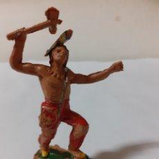 Figuras de Goma y PVC: FIGURA PLASTICO INDIO PECH ,REAMSA,JECSAN. Lote 217941743