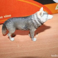 Figuras de Goma y PVC: MUÑECO FIGURA LOBO TIPO SCHLEICH. Lote 217983413