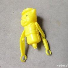 Figuras de Goma y PVC: RESTOS DE ALGUN JUGUETE DE UN GATO GUARDIA. Lote 218063957