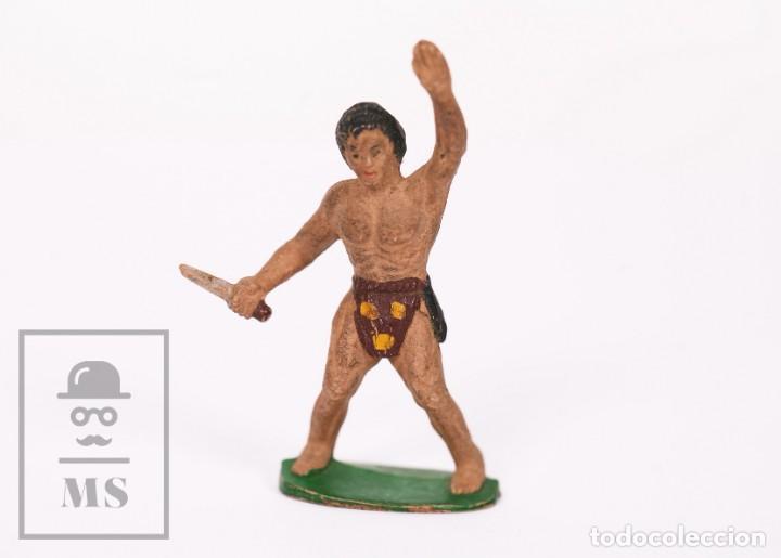 FIGURA DE GOMA SOTORRES - TARZÁN - AÑOS 50 (Juguetes - Figuras de Goma y Pvc - Sotorres)