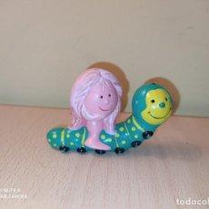 Figurines en Caoutchouc et PVC: FIGURA MIM MONTADA EN GUSANO LOS SABIOS BRB AÑOS 80 MI INTELIGENTE MUÑECO PVC. Lote 218094708