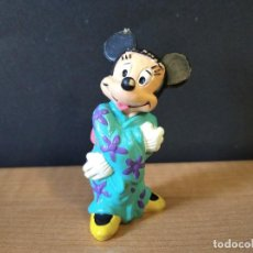 Figuras de Goma y PVC: FIGURA MINNIE-PVC-8CM APROX-BULLY LAND-DISNEY-GERMANY-VER FOTOS. Lote 218115502