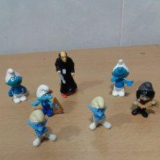 Figuras Kinder: KINDER PITUFOS. Lote 218146853