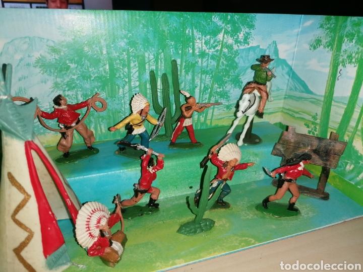 Figuras de Goma y PVC: Antigua caja VIDEORAMA de REAMSA - Foto 2 - 218163517