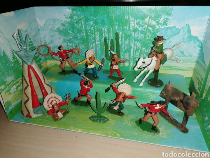 Figuras de Goma y PVC: Antigua caja VIDEORAMA de REAMSA - Foto 3 - 218163517