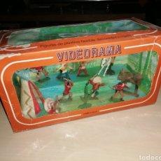 Figuras de Goma y PVC: ANTIGUA CAJA VIDEORAMA DE REAMSA. Lote 218163517