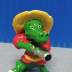 Figuras Kinder: FIGURA KINDER FERRERO COCODRILO AÑOS 90. Lote 218165638