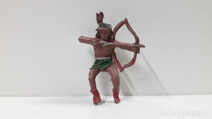 Figuras de Goma y PVC: GUERRERO INDIO PARA CABALLO . REALIZADO POR LAFREDO . AÑOS 50 EN GOMA . CABALLO NO INCLUIDO - Foto 5 - 218179421