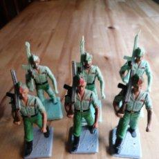 Figuras de Goma y PVC: LOTE 6 LEGIONARIOS REAMSA. Lote 218204577