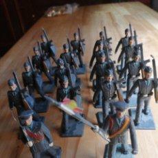 Figuras de Goma y PVC: GRAN LOTE 18 SOLDADOS DE AVIACION REAMSA. Lote 218206698