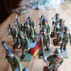 Figuras de Goma y PVC: LOTE 14 SOLDADOS INFANTERIA REAMSA. Lote 218209032