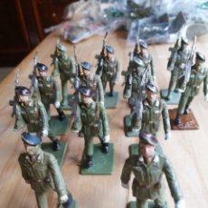 Figuras de Goma y PVC: LOTE 13 PARACAIDISTAS REAMSA. Lote 218209570