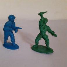 Figuras de Goma y PVC: FIGURAS SOLDADOS AMERICANOS PLASTICO PIPEROS O SIMILAR. Lote 218221220