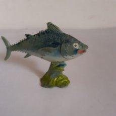 Figuras de Goma y PVC: FIGURA ATUN SERIE ACUARAMA PLASTICO. Lote 218221855