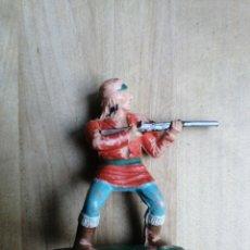 Figuras de Goma y PVC: FIGURA REAMSA INDIOS APACHES N°340. Lote 218232263