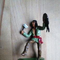 Figuras de Goma y PVC: FIGURA REAMSA INDIOS APACHES N° 342. Lote 218235935