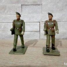 Figuras de Borracha e PVC: LOTE 2 PARACAIDISTA DESFILANDO.PLASTICO . REAMSA.. Lote 218311115