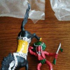 Figuras de Goma y PVC: INDIO DE REIGON. NO COMANSI, JECSAN, SOTORRES, LAFREDO. NUEVO EN SU BOLSA. Lote 218403471