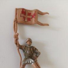 Figuras de Goma y PVC: FIGURA MEDIEVAL REAMSA. Lote 218407326
