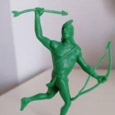 Figuras de Goma y PVC: INDIO PLÁSTICO LAFREDO MONOCOLOR. Lote 218485630