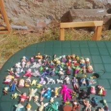 Figuras de Goma y PVC: LOTE FIGURAS GOMA PITUFOS, DRAGON BALL, BLAS.... Lote 218527670