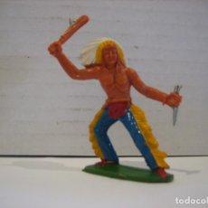 Figuras de Goma y PVC: FIGURA DE UN INDIO DE SOTORRES. Lote 218542528