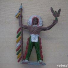 Figuras de Goma y PVC: FIGURA DE UN INDIO DE SOTORRES. Lote 218542601