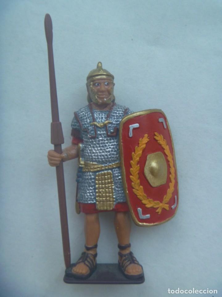 FIGURA DE LEGIONARIO ROMANO , DE BULLYLAND . MADE IN GERMANY (Juguetes - Figuras de Goma y Pvc - Bully)