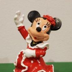 Figuras de Goma y PVC: FIGURA MINNIE BULLYLAND DISNEY NOVIA DE MICKEY BAILANDO SEVILLANA. Lote 218601211