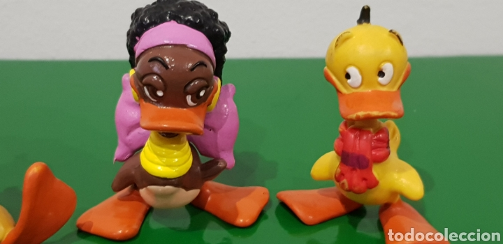 Figuras de Goma y PVC: LOTE 3 FIGURAS, 2 DE Alfred J. Kwak Y 1 DE Winnie LA PATA / Schleich - 1990 HVSB - Foto 3 - 218631978